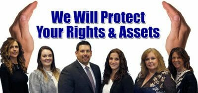 contested divorce protect rights assets